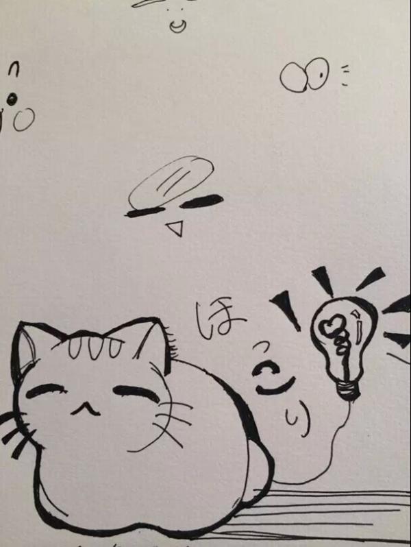 闺蜜卡通手绘简笔画