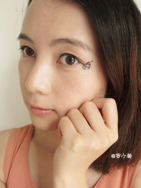【罗小葵】创意眼妆只需点睛一笔.