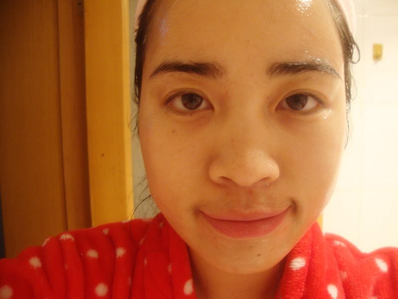 【11护肤】混合型肌肤面膜步骤分享——兰芝夜间补水