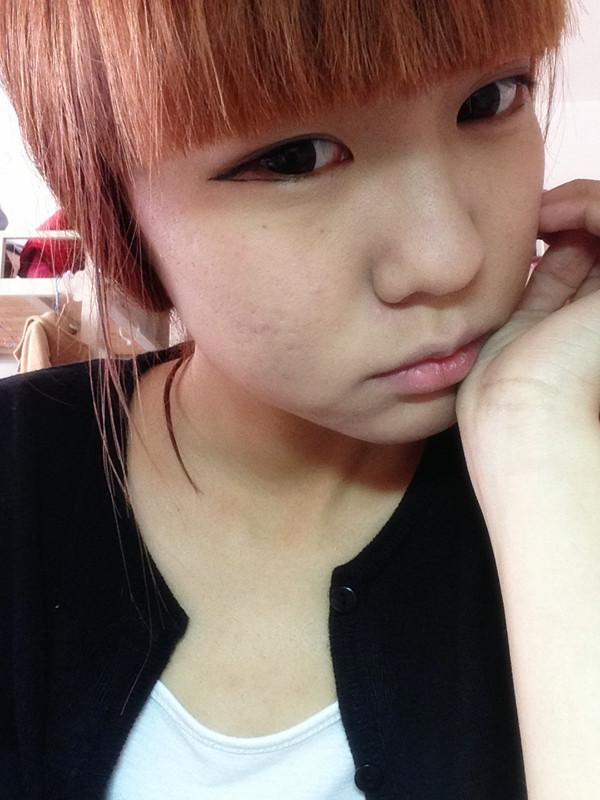 平刘海美女素颜