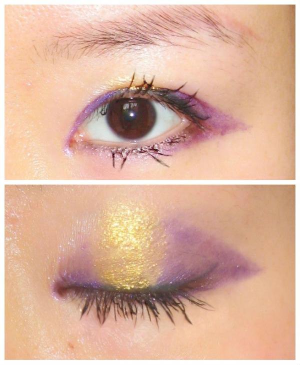 玛丽黛佳多米诺创意眼影组爱如指间沙妆容小演练,玩转图片