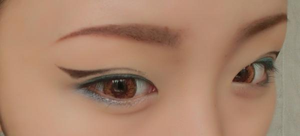 小猫眼妆画法步骤