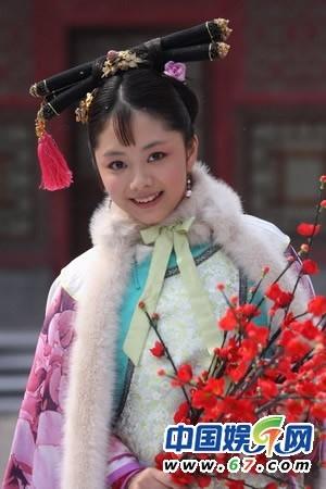 甄嬛传最纯小妃子淳贵人仿妆~娉娉袅袅十三余