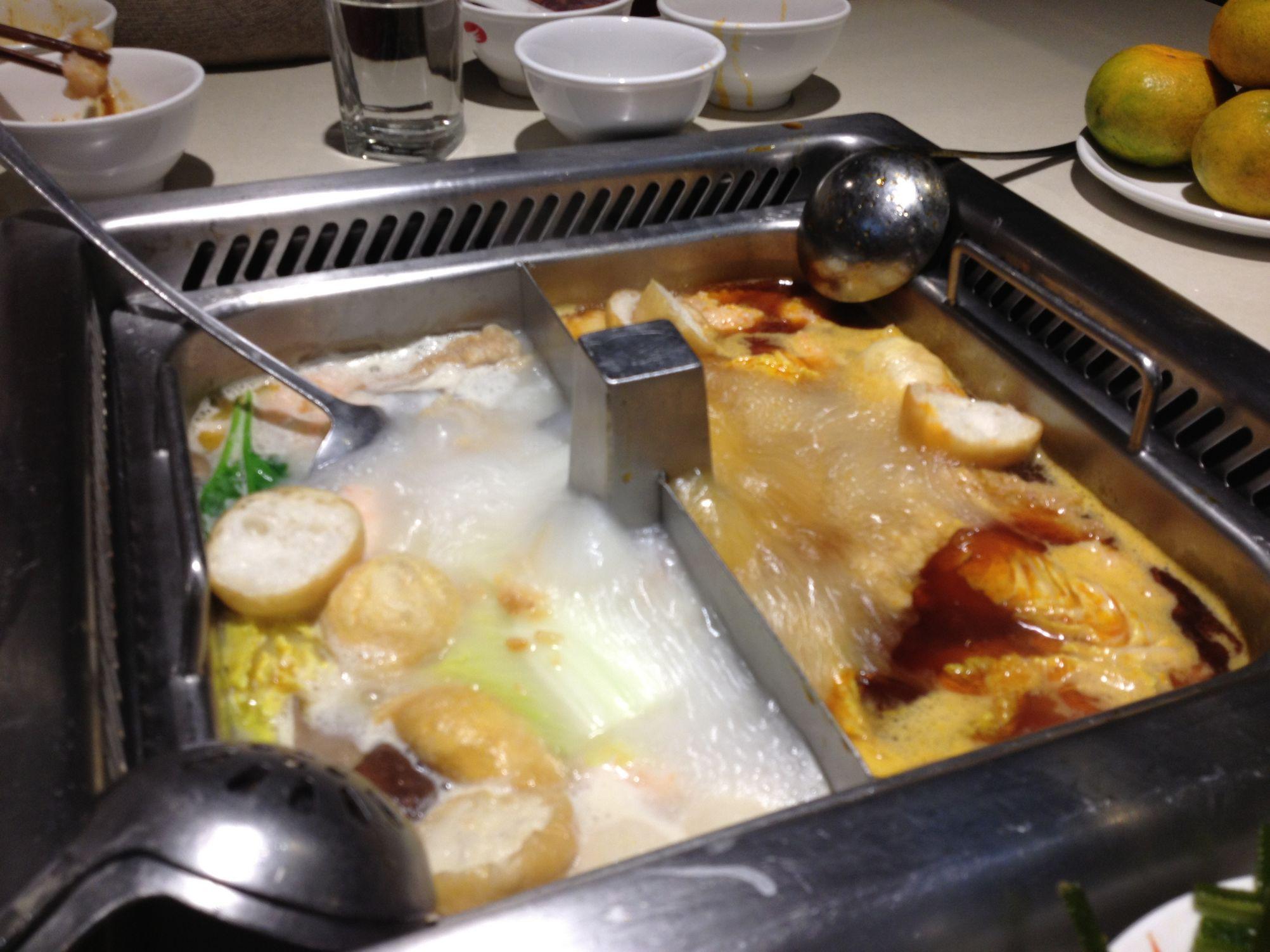 但还是很辣啦 【海底捞】我也算灭草喽,味道也就这样吧,就是个火锅味