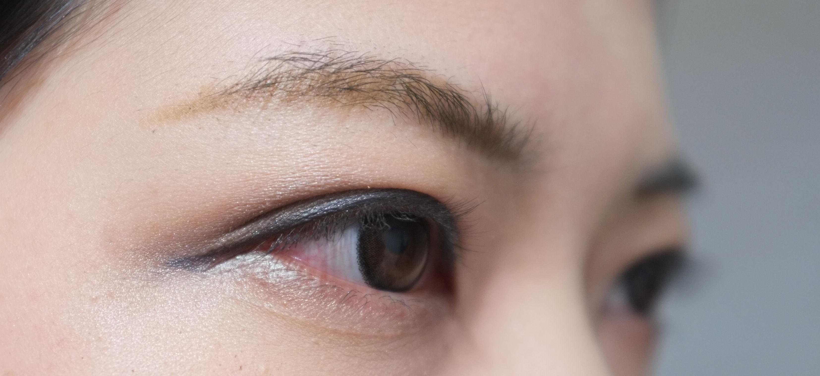 黑皮肤画眼影步骤