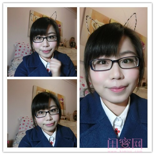 【闺蜜爱彩妆】眼镜妹的可爱妆容