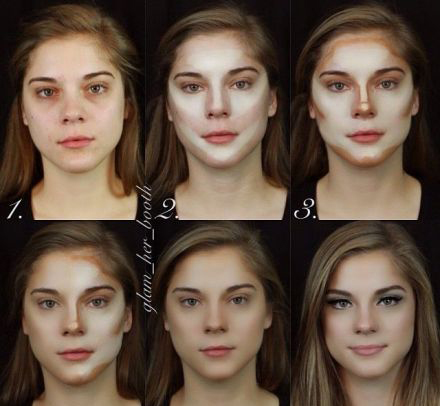 人脸素颜素材欧美