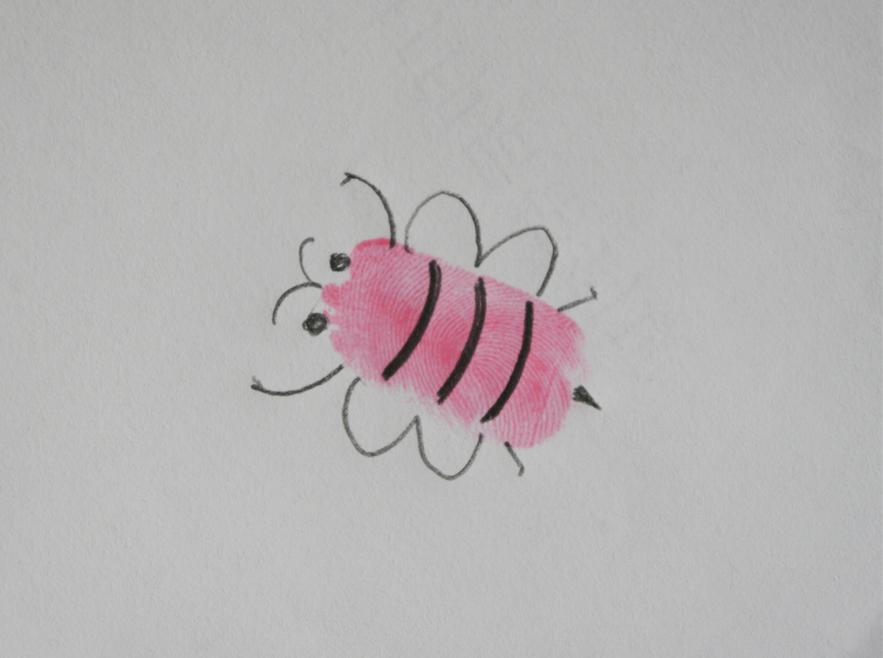 【拇指画印着奇妙】和小动物们一起过六一节