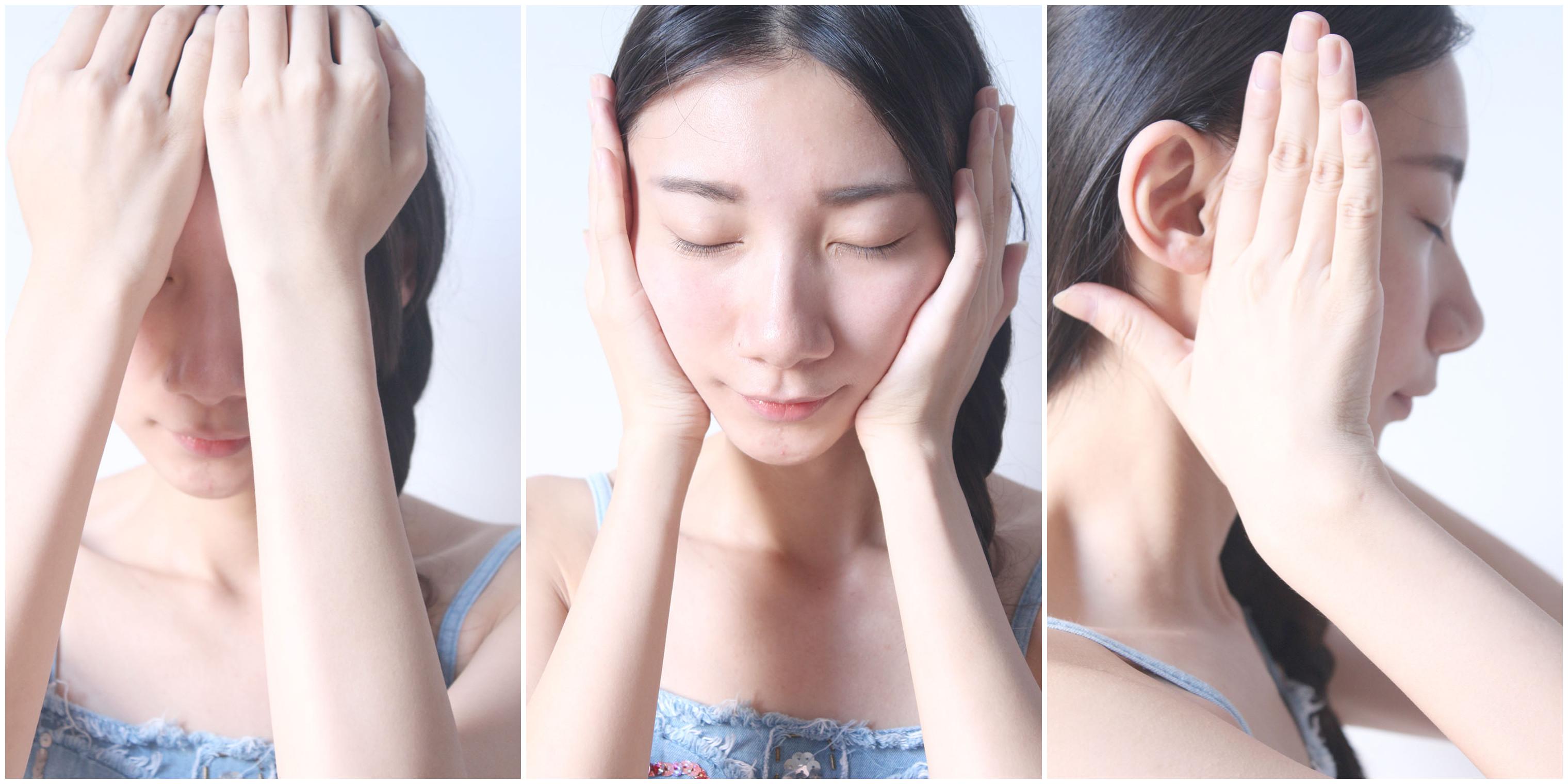 面部护理按摩步骤图