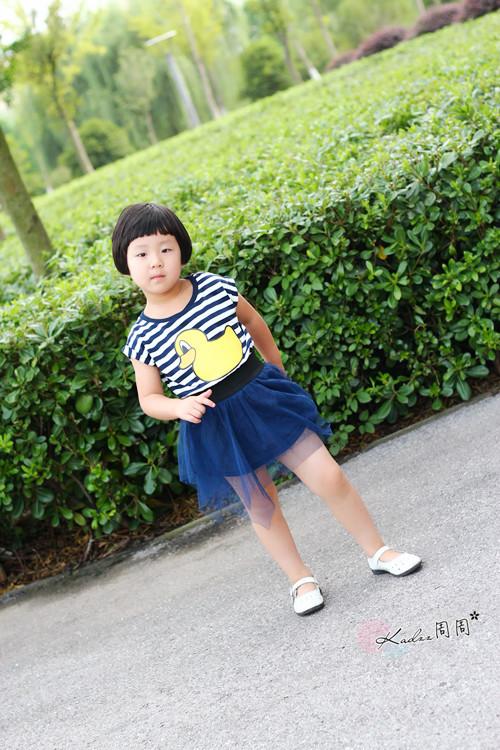 【宝贝穿搭】可爱小黄鸭公主裙 - 晚九点 - 闺蜜网