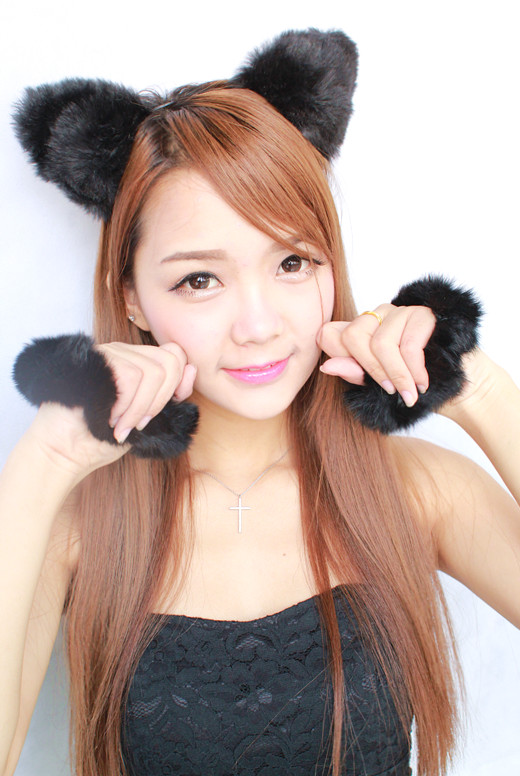 【美妆大赛】gigicherry—cos萌萌哒小猫女来袭