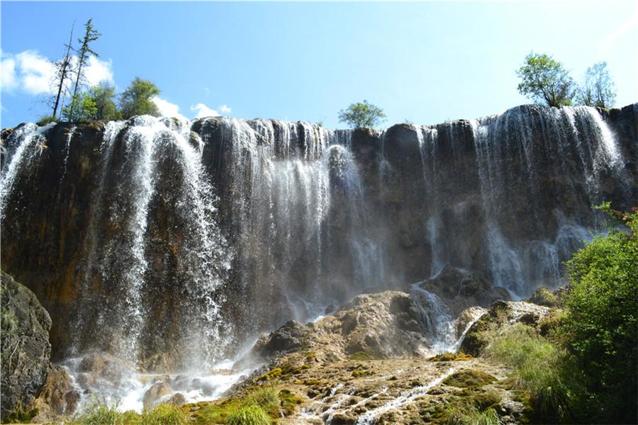 壁纸 风景 旅游 瀑布 山水 桌面 900_600
