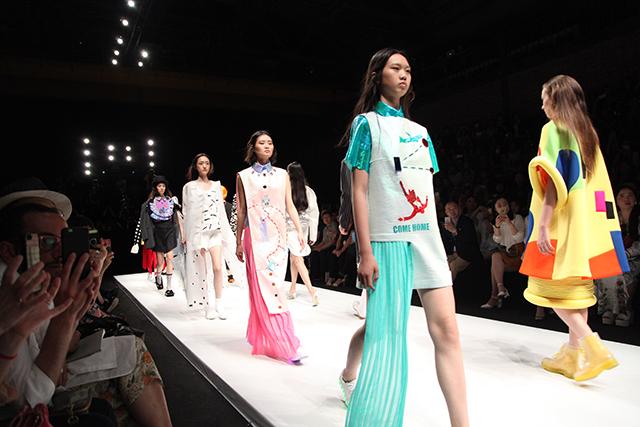 米兰,清华美术学院2015年服装设计毕业生作品