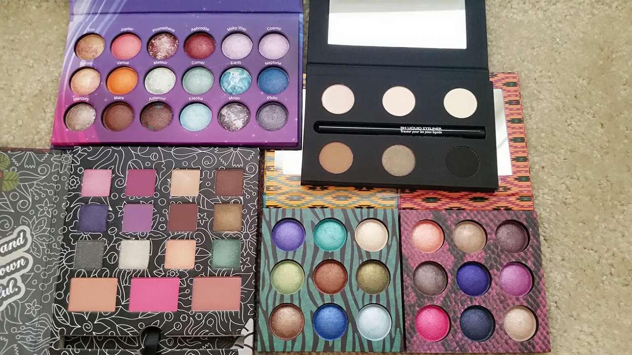 彩妆 化妆品 眼影 1280_720