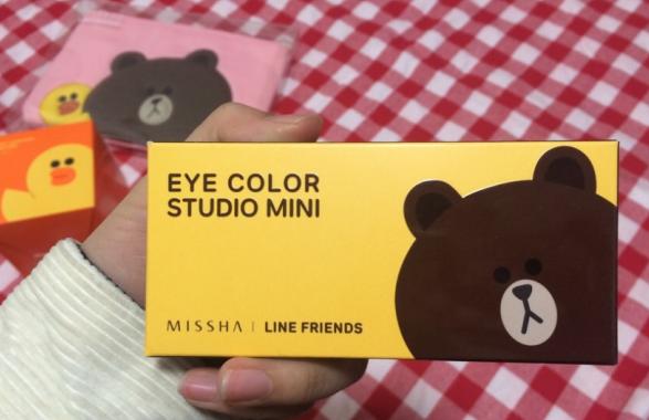 韩国missha的line friends~~!