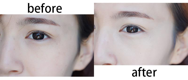 【燕燕】伪素颜的水光肌底妆,自然堂气垫bb