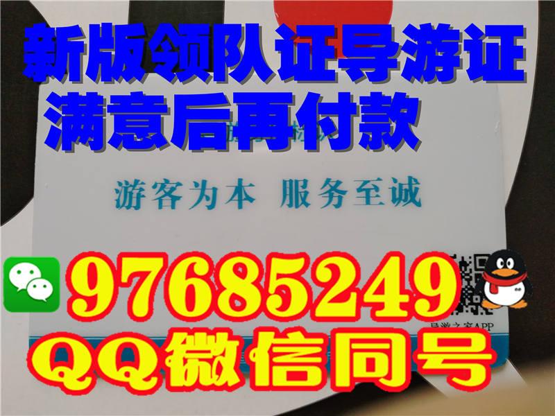 北京市2017年新版领队证
