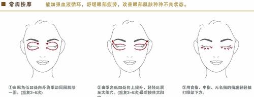 正确的眼霜使用方法