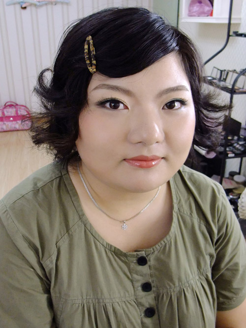 西爷打造~胖女孩也有春天(周末试妆)之只比梦长毛女生脸上会图片
