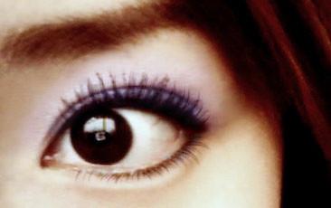 在杂志上看到的小动物妆容的画法(眼妆)