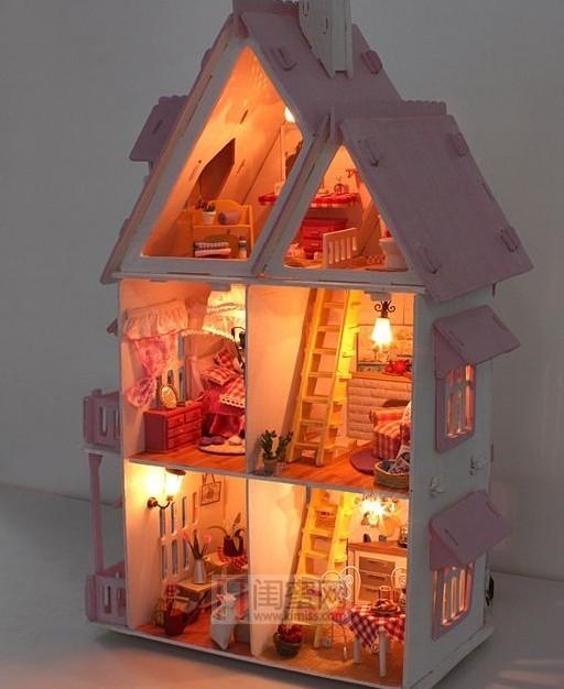 纸壳做房子步骤和图片