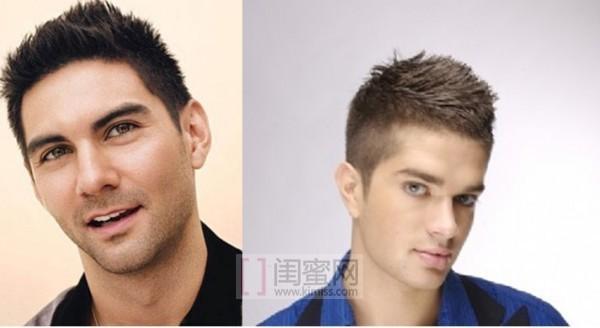 发型男短发两边剃掉刮花纹