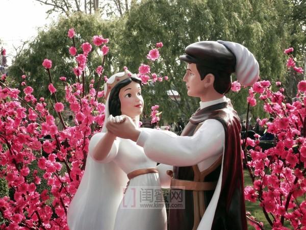 白雪公主与王子简笔画
