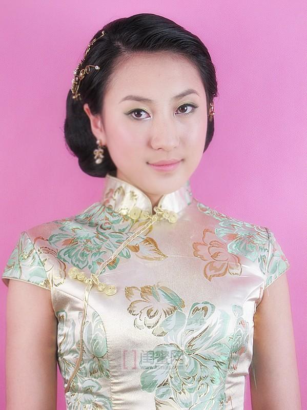 旗袍妆容~再现老上海