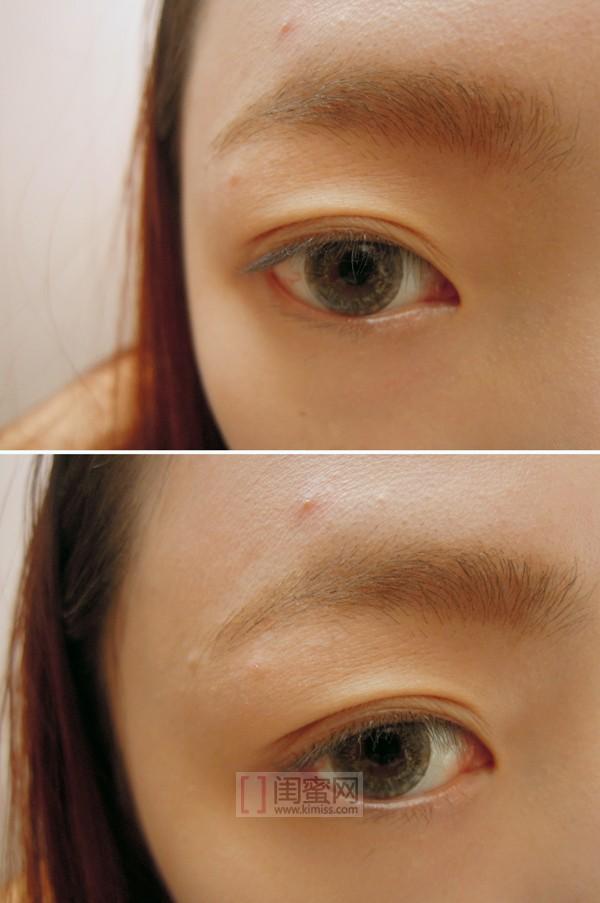 洗完眉���9f�x�_底妆和眉毛都完成后的裸眼~  哇好多痘痘啊