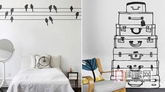超有创意的立体彩绘,让你的房间变个样!