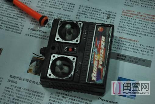 手机电池改装遥控车电池
